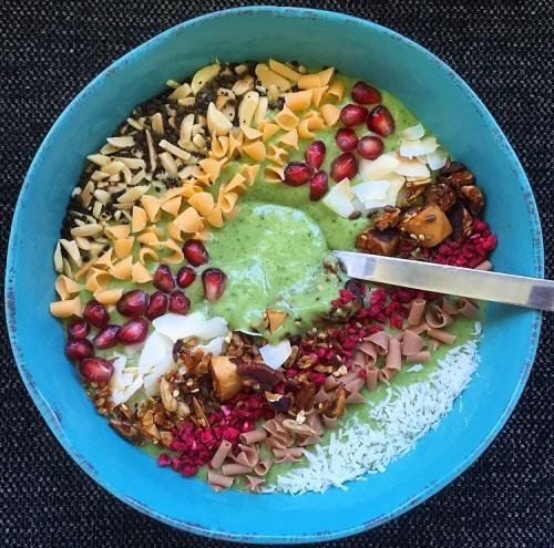Greenie Sundhed Grøn Smoothie Sukkerfri Blog Opskrift Spinat Banan Morgenmad