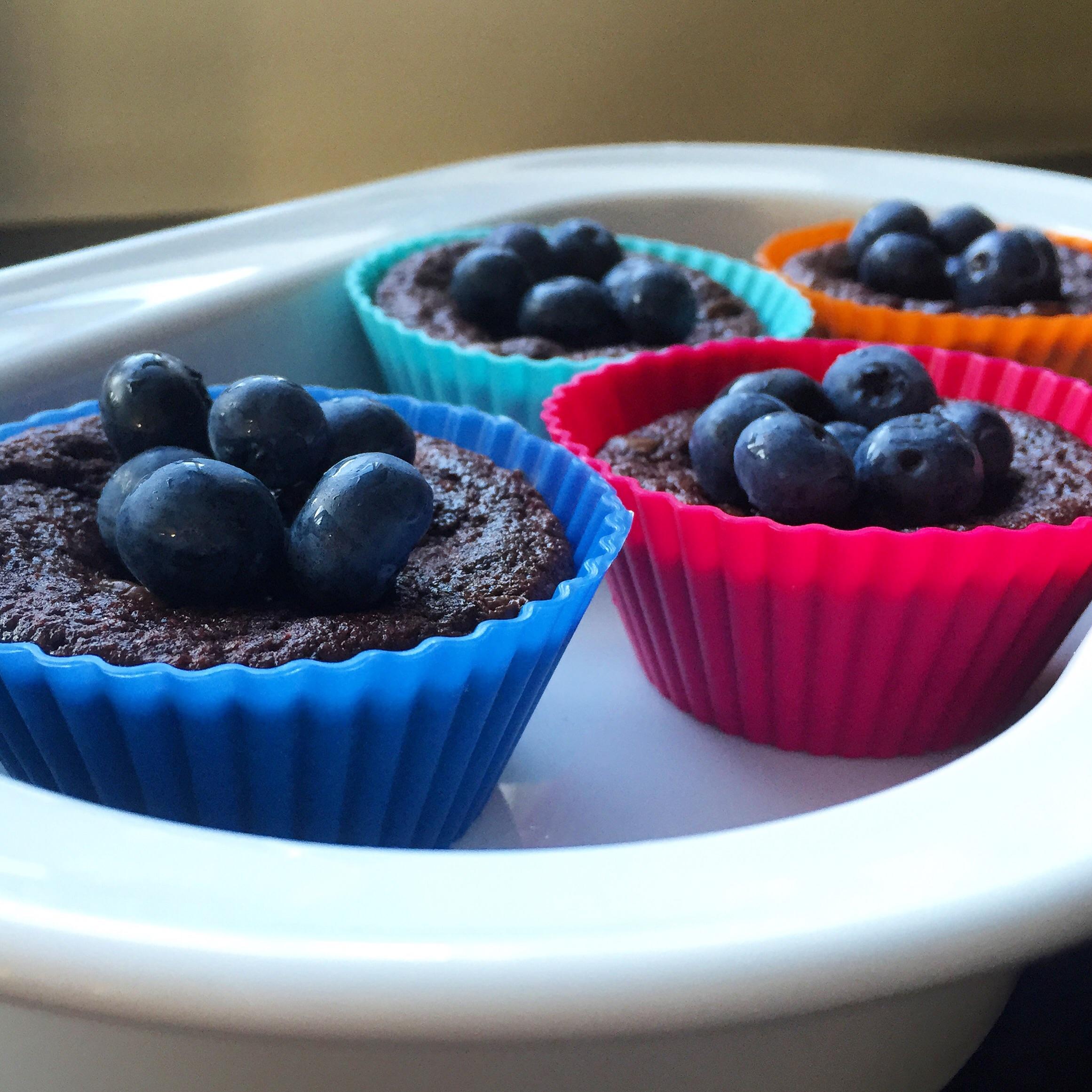 Chokolade muffins Hjemmelavet Snack Kage Opskrift Blog Dessert