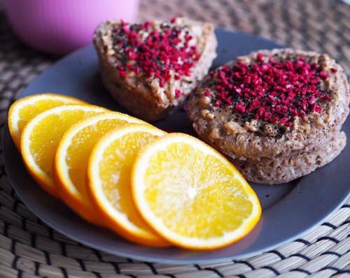 Mugcake kage Sundhedsforbedret kop kage brunkage smag jul opskrift blog