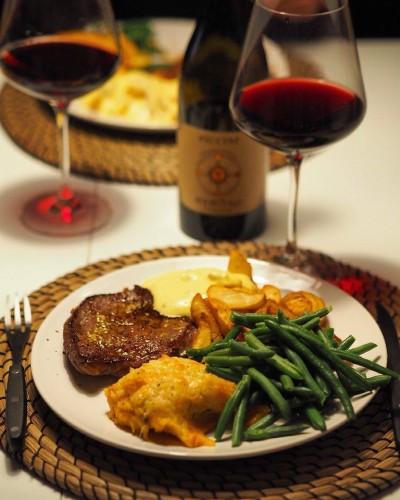 Sweet patato ovnbagt steak blog blogger opskrift opskrifter Aftensmad Inspiration