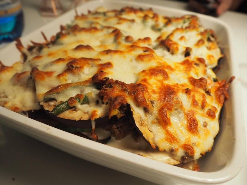 Grøntsags lasagne Auberginer Opskrift Opskrifter Blog Blogger