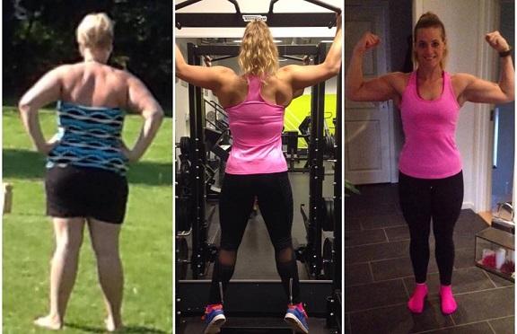 Vægttab Muskler Styrketræning Muskelopbygning Fedttab Transformation Motivation Træning Blog Blogger