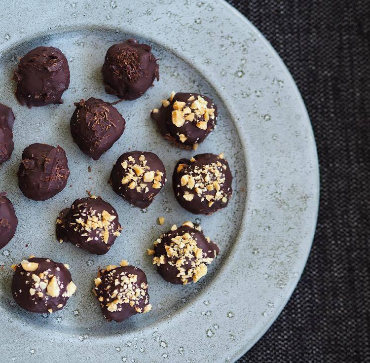 Snack Sukkerfri Glutenfri Peanuts Protein Blog Blogger Opskrift