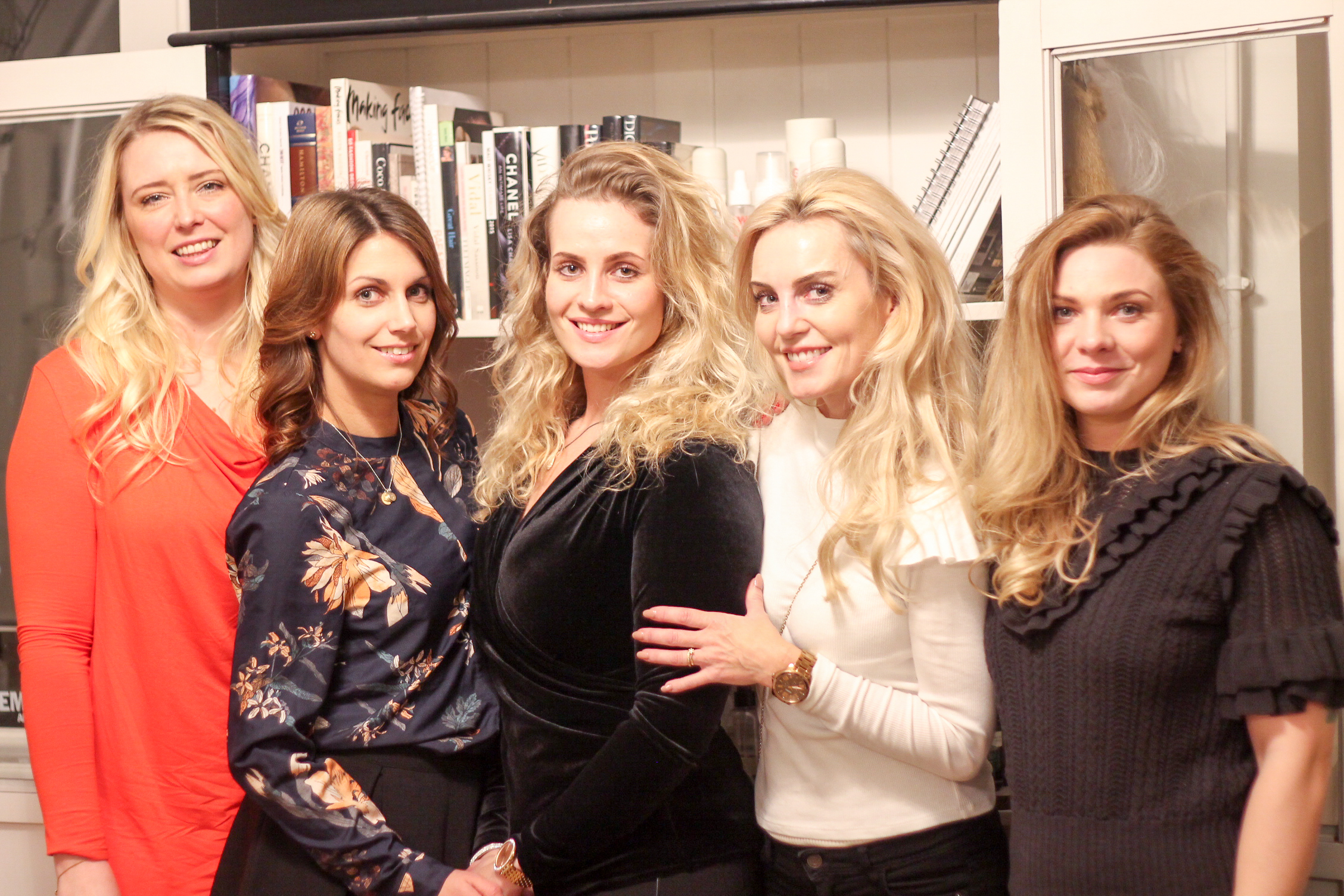 Odense look outfit blogger fra odense odenseblogger bloggerevent blogger event frisør tine balle & team hairstudio beautified
