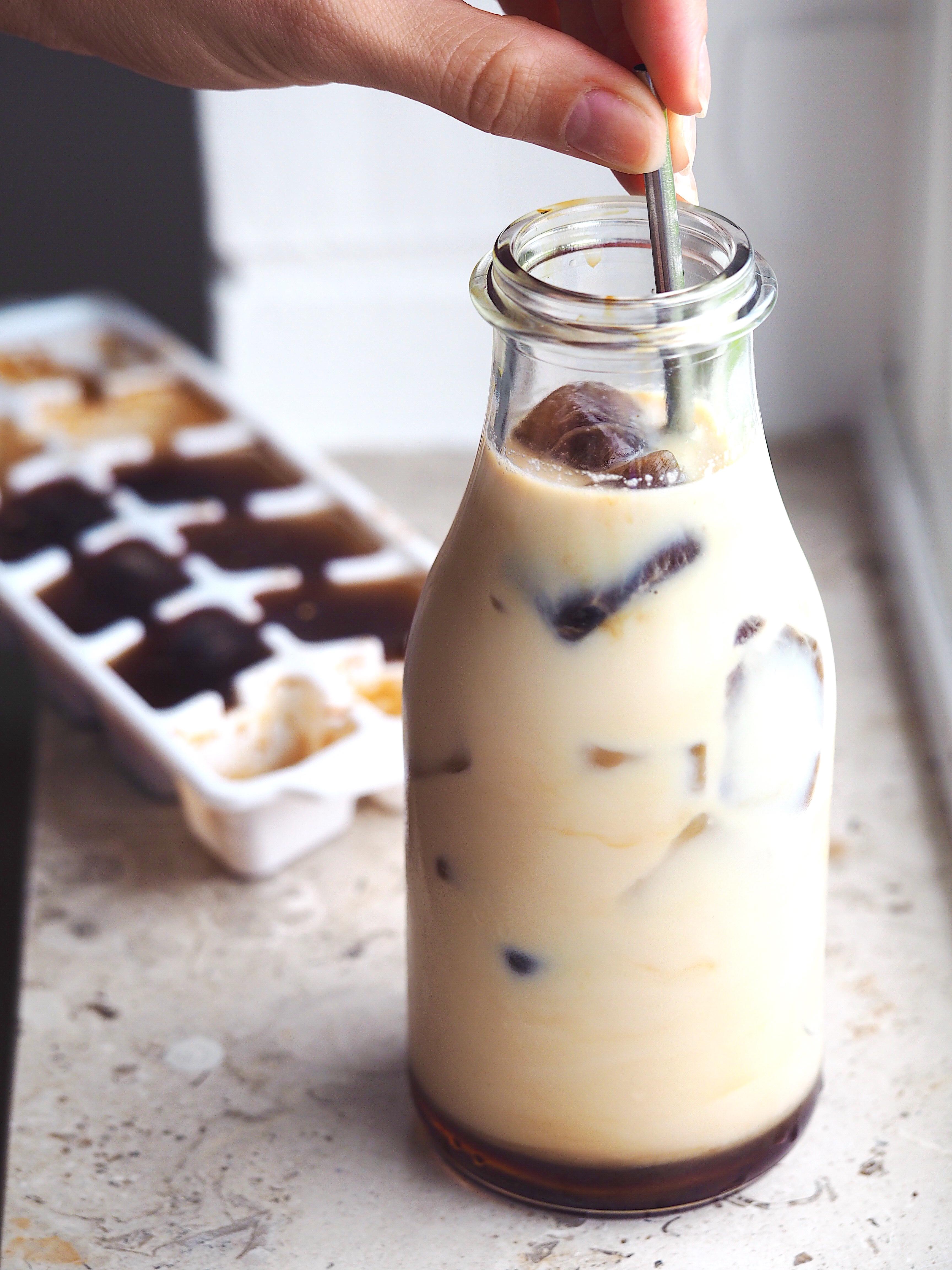 Iskaffe 1883 Sirup Opskrift Verdens Bedste Lækker Ice coffee Blog