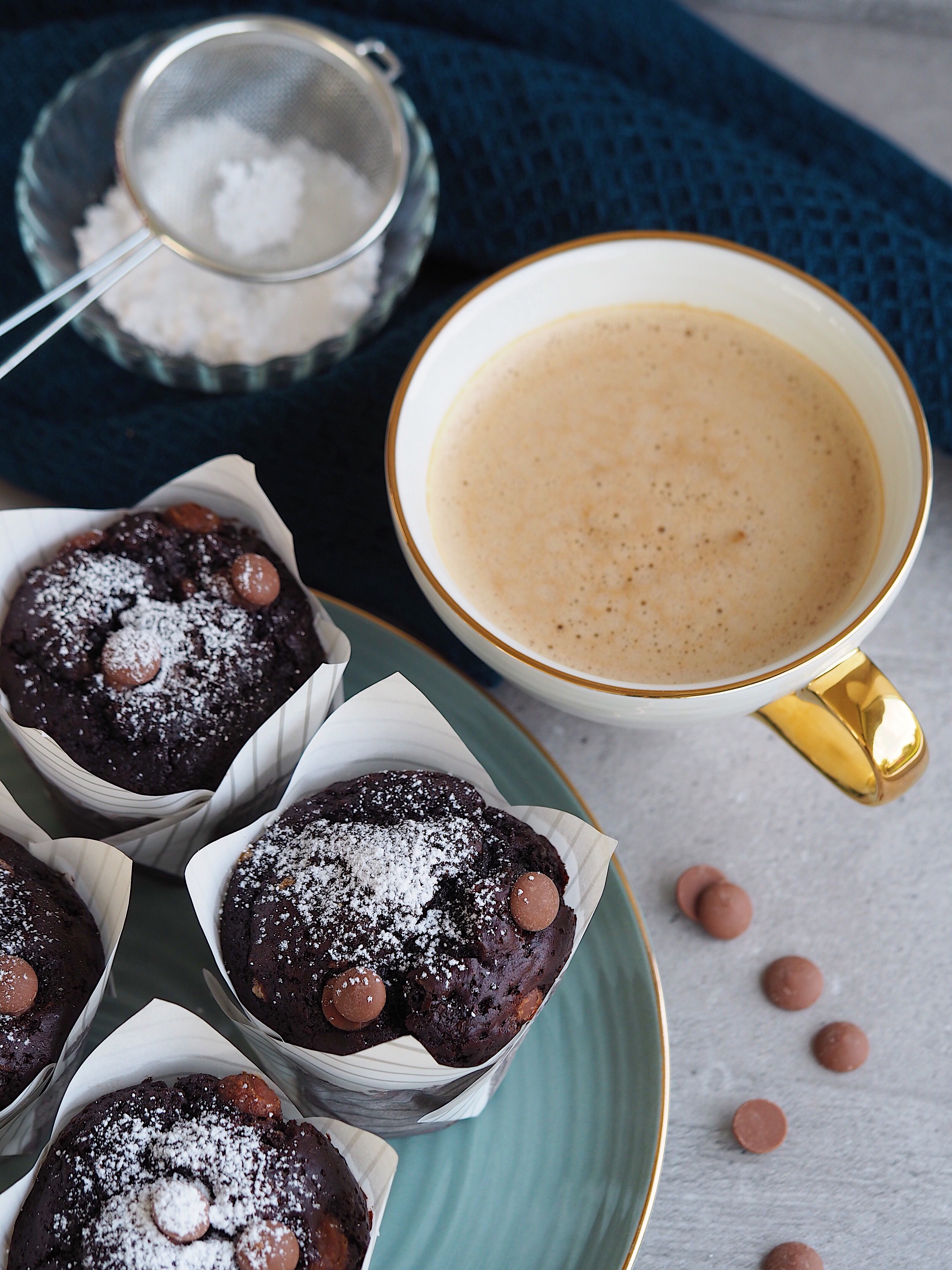 Lækre Svampede Blødende Chokolade Muffins Kage Finax Bagværk Når du elsker at bage Opskrift Mia Lindholm Blog Blogger