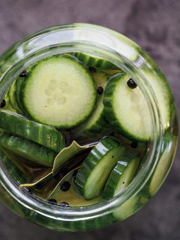 Syltede agurker