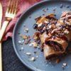 Æggewrap med peanutbutter, proteinella og chocolate hazelnut | Sunde pandekager