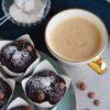 Opskrift på de lækreste, blødende chokolade muffins