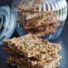Sprødt stenalder knækbrød | Mel- og glutenfrit