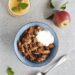 Bagte æbler med kanel, nødder og havregryn Opskrift Mia Lindholm Blog Blogger Mad Madblog Fynske Influencers Odense Bloggers Mad Inspiration